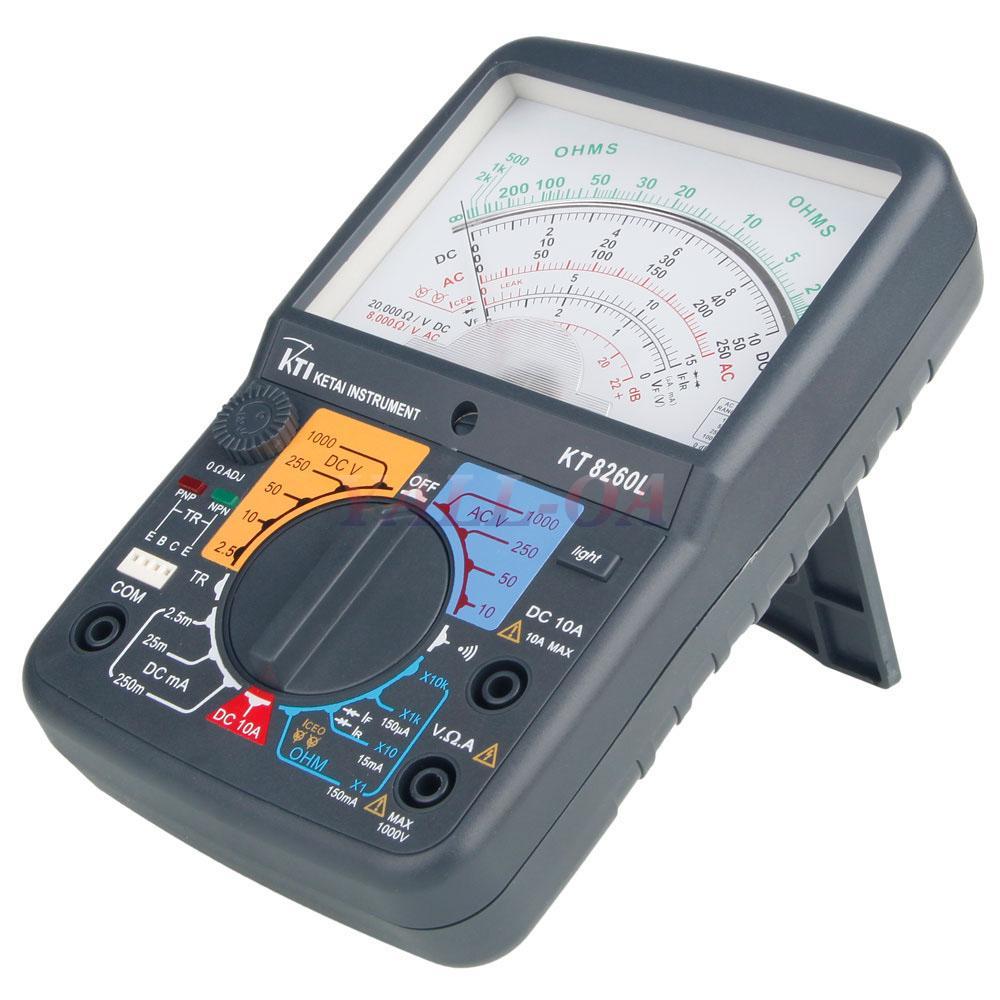 Analog Electric Meter : Kt l electric ac dc voltage analog multimeter tester