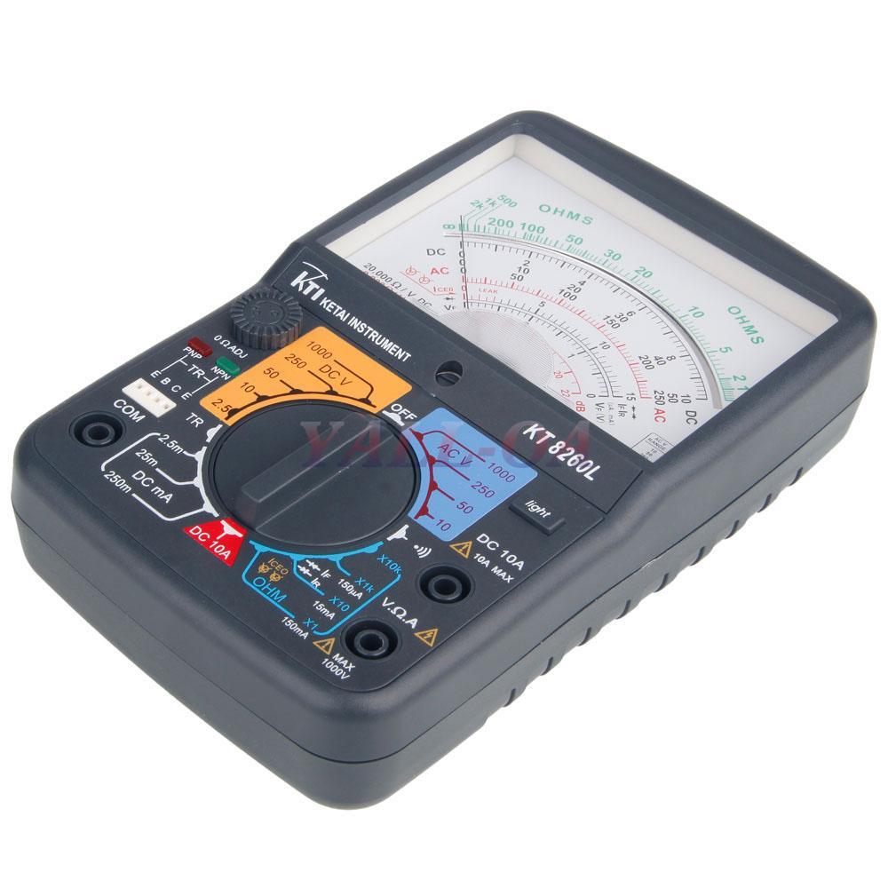 Ac Voltage Tester : Kt l electric ac dc voltage analog multimeter tester