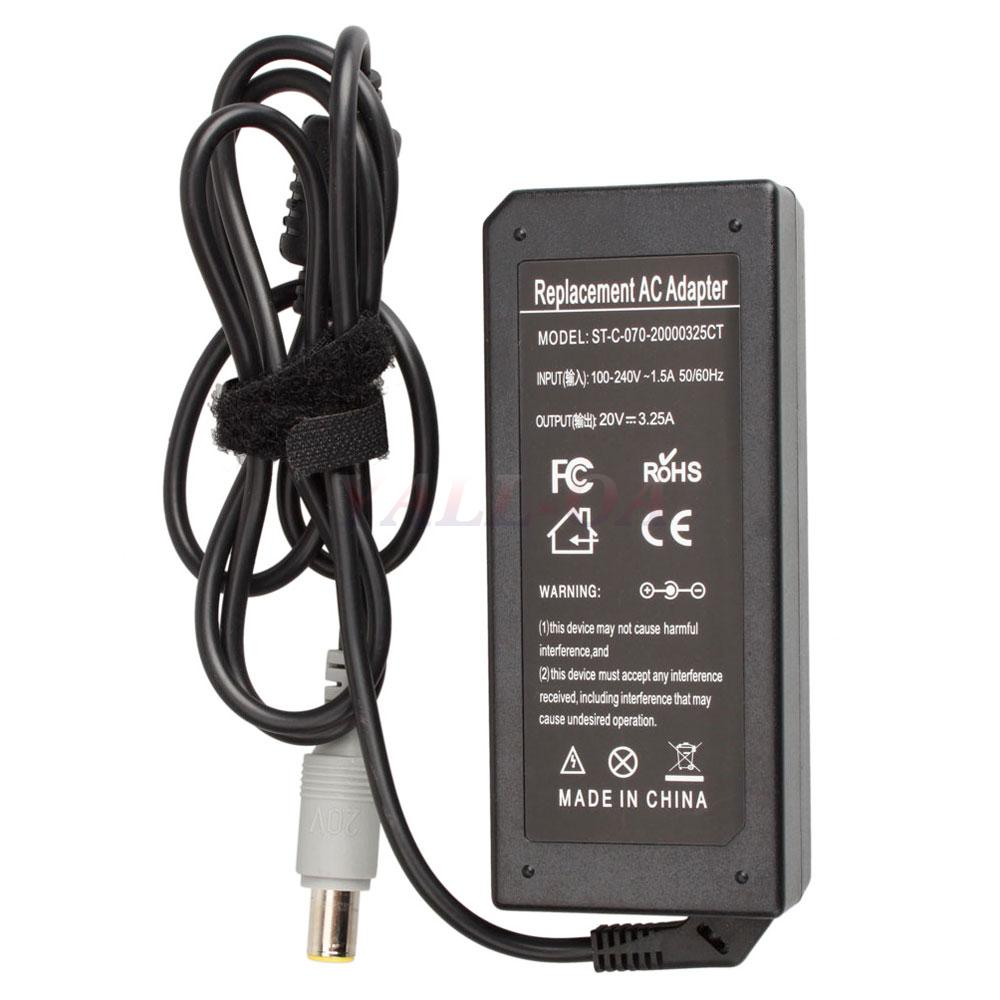 65w 19v Ac Adapter Charger For Ibm Lenovo T400 T410 T420
